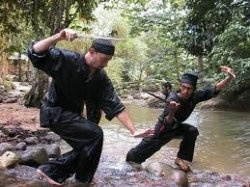 Pentjak silat is the national defense form of Indonesia (Malaysia is bersilat). Pentjak-silat appears to have first developed in the Sumatra Minangkabau...