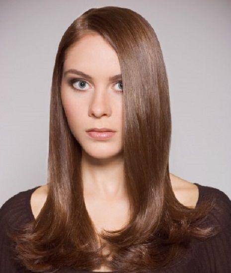 Женская причёска для длинных волос