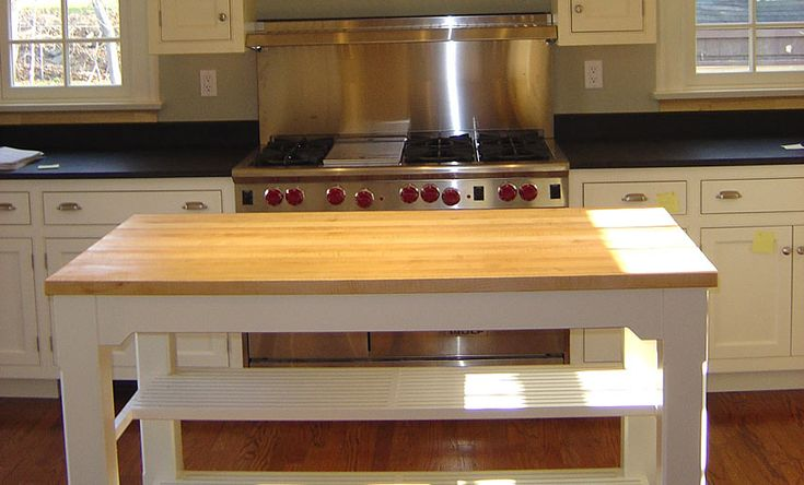 1 1 2 Inch Hard Maple Wood Countertop In Blond Color With A 1 4 Inch Roundover Edge Profile And A Durata Finish Https Www Glumber Com Pinterest