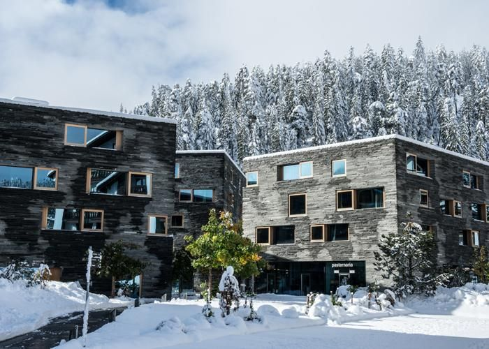 rocksresort perfectly merges apartment-style rooms with hotel services. http://www.powderbyrne.com/ski/laax/rocksresort