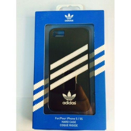 Hard Case nera originale Adidas per Apple iPhone 5 5S