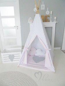 Tipi dla dzieci - wigwam, namioty dla dzieci, teepee