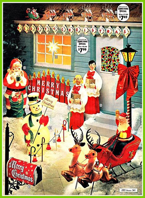 1970 christmas sears - Sears Christmas Decorations
