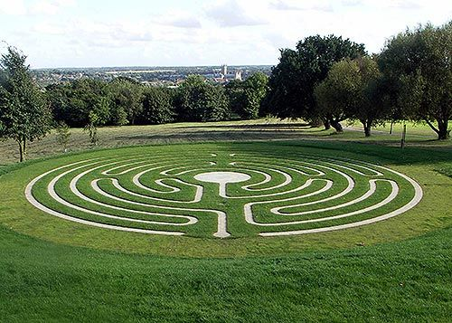Labyrinth Designs Garden inner healing The Canterbury Labyrinth By Haywood Landscapes Professional Garden Design And Construction