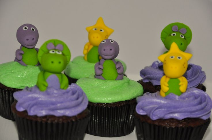 Barney & Friends Cupcakes