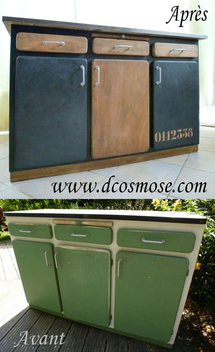 best 25 bahut industriel ideas on pinterest relooking meuble avant apr s buffet bahut and. Black Bedroom Furniture Sets. Home Design Ideas