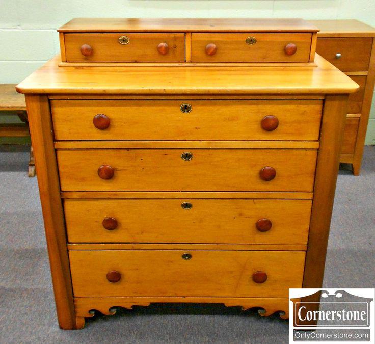 5670-761 Cabinet Made Pine Dresser