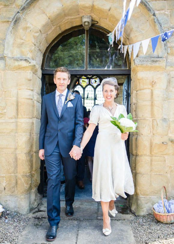 A 1940's Charity Shop Wedding Dress That Cost Just £30... - Love My Dress Wedding Blog