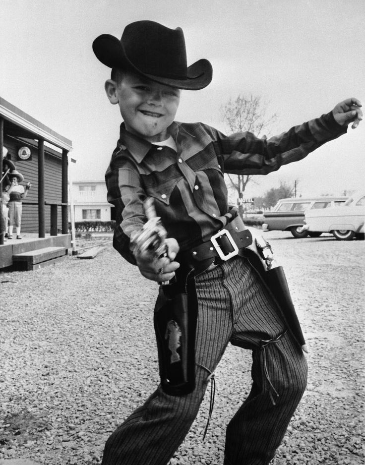 Boy Cowboy..probably get started or killed by a cop for this these days.  PC libtards killed America.