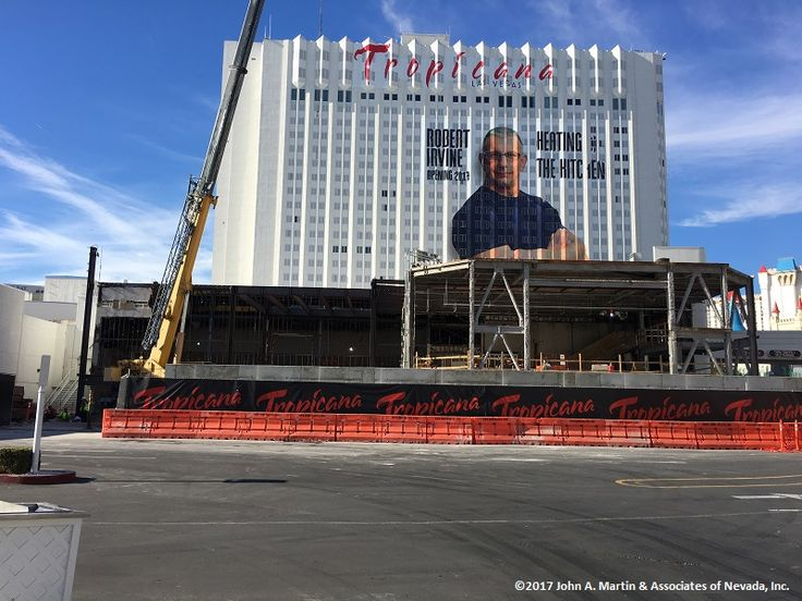 John A. Martin & Associates of Nevada are the in the process of designing a renovation and addition to the Tropicana Hotel & Casino Las Vegas, NV. Stay tuned for more pictures.