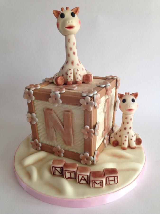 Sophie giraffe - Cake by The Chocolate Bakehouse