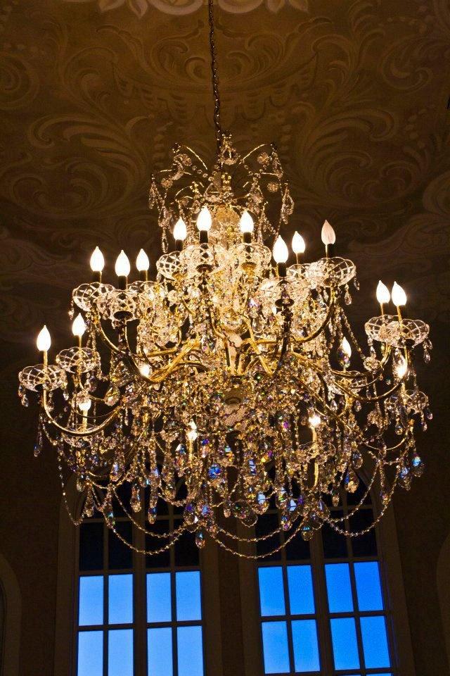 8 best ballroom receptions images on pinterest castle castle avalons swarovski chandelier mozeypictures Gallery