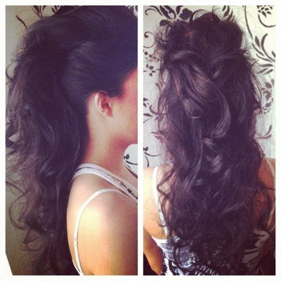 mohawk updo -- love needs learn how to do this !!