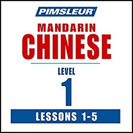 """Another must-listen from my #AudibleApp: """"Chinese (Mandarin) Level 1 Lessons 1-5: Learn to Speak and Understand Mandarin Chinese with Pimsleur Language Programs"""" by  Pimsleur, narrated by  Pimsleur."""