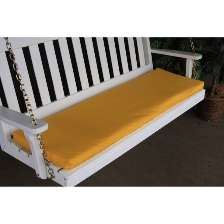 A & L Furniture Sundown Agora 45 x 17 in. Cushion for Bench or Porch Swing