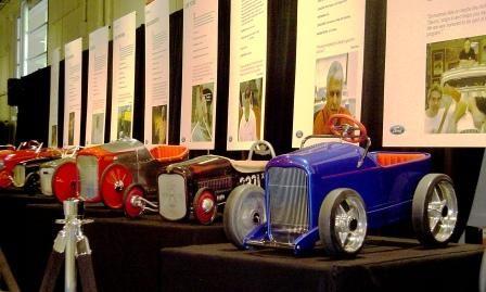 Custom pedal cars Grand National Roadster Show '07