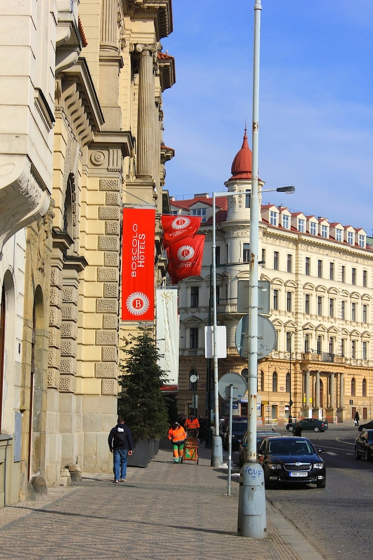 March 17, 2013. We arrive at the acclaimed five star Boscolo Carlo IV Hotel in Prague.
