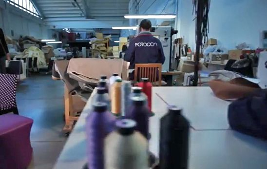 Our upholstery department