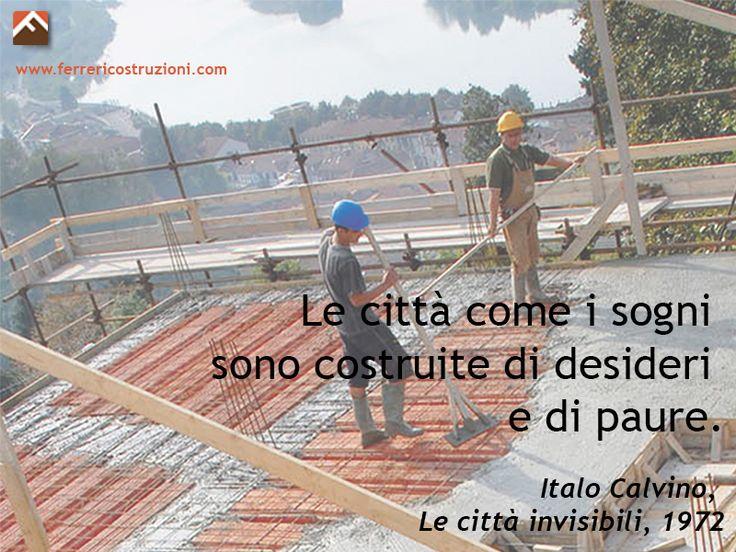 #piùchecostruire #creare #sostenibile #sogni #ItaloCalvino #città
