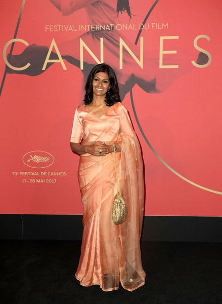 Nandita Das attends the Mantha Buyers Evening at The 70th Cannes Film Festival at Majestic Barierre on May 22, 2017 in Cannes, France.