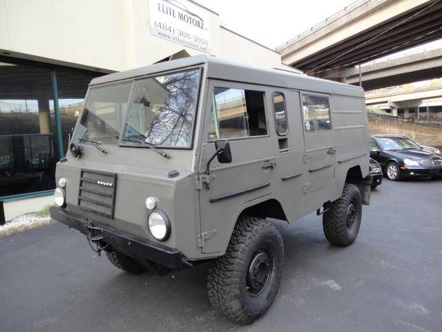 SUPER RARE 1974 VOLVO C303**ALSO KNOWN AS VOLVO LAPLANDER**46k KILOMETERS WHICH IS 29K MILES**ONE OF THE BEST OFF ROAD TRUCKS IN THE WORLD**BUILT BY SWEDISH MILITARY**MANUAL TRANSMISSION W/ 4 LOW- 4 HIGH - REVERSE LOW AND HIGH**CLEAN NJ TITLE**COOLER THAN PINZGAUER AND UNIMOG**INLINE 6 CYLINDER VOLVO B-30 ENGINE**PORTAL DIFFERENTIALS