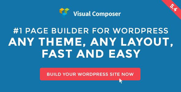 Visual Composer: Page Builder for WordPress by wpbakery Visual Composer ¨C current version 5.4.2 available for download!Visual Composer WordPress Page Builder Plugin with Frontend and Backend EditorHave you ever noticed how much time you waste while manually coding layouts? No more tr