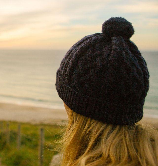 Women's British Wool Beanie