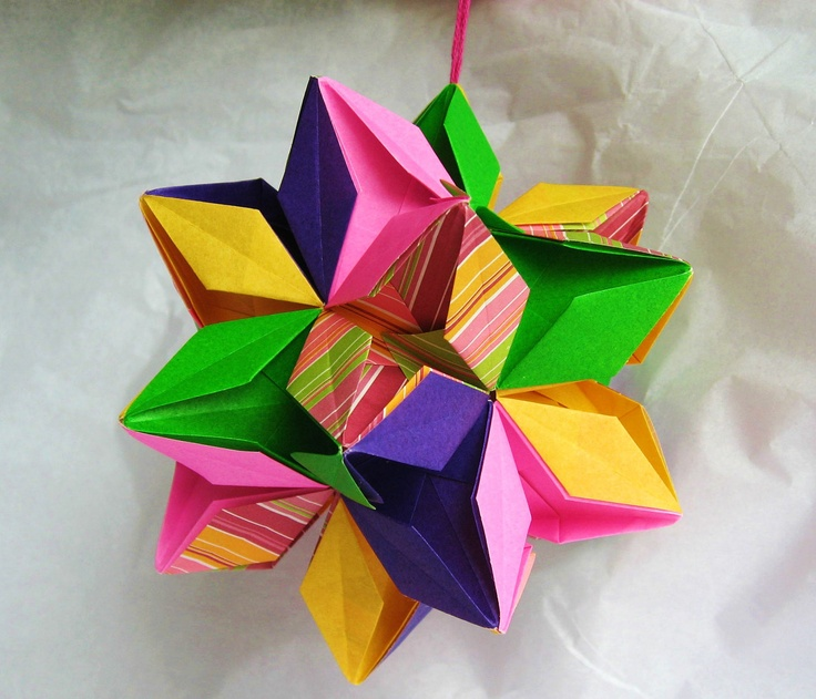 Picture Of Diy Origami Ornaments: 17 Best Images About Origami On Pinterest