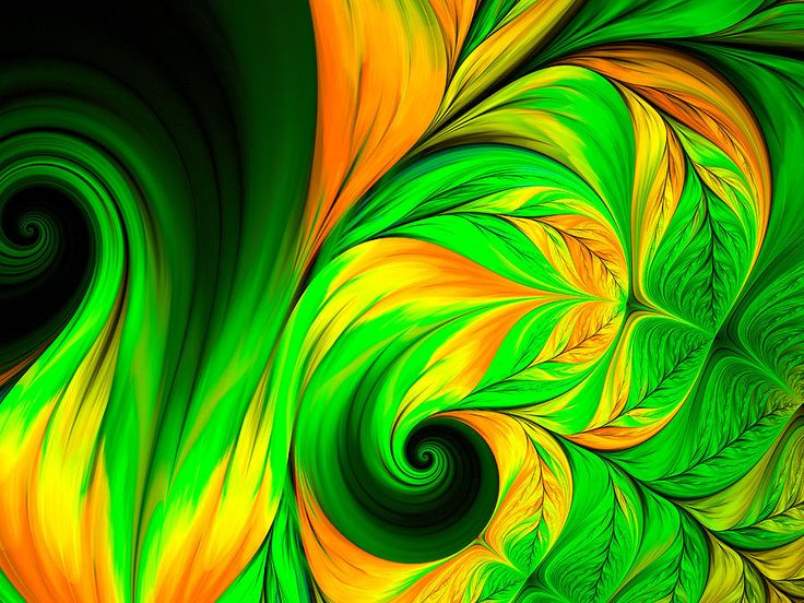 Fractal Feather Green Yellow Digital Art by Oksana Ariskina  #OksanaAriskina #OksanaAriskinaFineArtPhotography #Artworks #FineArtPhotography #HomeDecor #FineArtPrints #FineArtAbstract #Fractal #AbstractBackgrunds #ArtForSale #Air #Peacock #Green #Yellow #Wave #feather