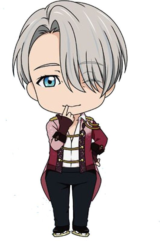 "Yuri!!! on Ice Chibi Viktor"" Stickers by lovelyzen 