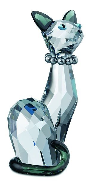 Ines - Swarovski Lovlots House of Cats Park Hills Collection.  Swarovski Crystal Figurine.