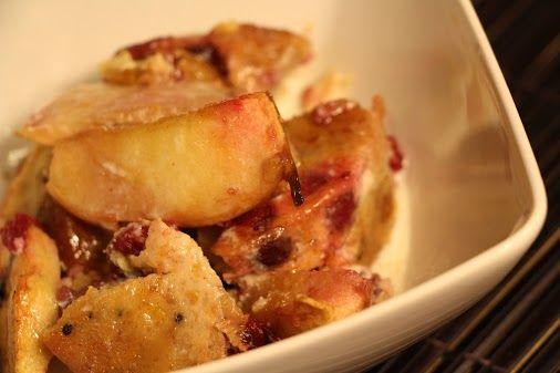 Terry McNeil - Google+ - Cranberry Apple Bread Pudding - https://plus.google.com/u/0/+TerryMcNeil/posts/8KS45ZxmZVZ