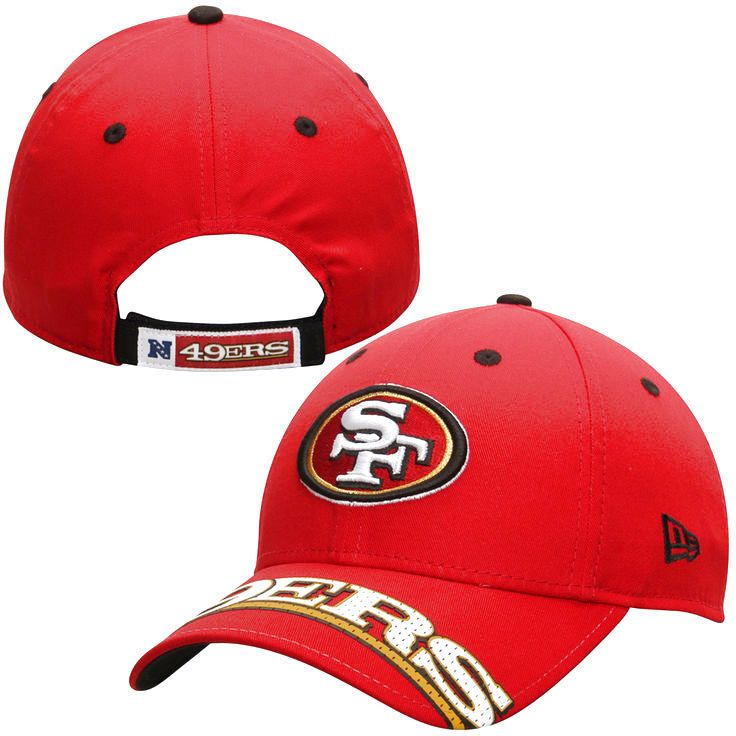 San Francisco 49ers New Era Word Pin Classic 9FORTY Adjustable Hat - Scarlet - $18.39