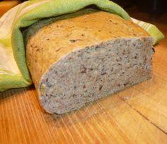 #recept #Gluténmentes #Cukormentes #Laktózmentes Nagyon jó állagú hajdinás kenyér.
