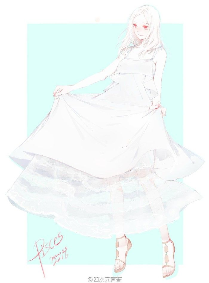 Girl of White