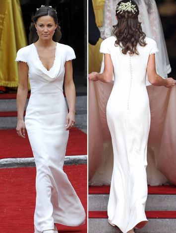 Pippa Middleton or her arse