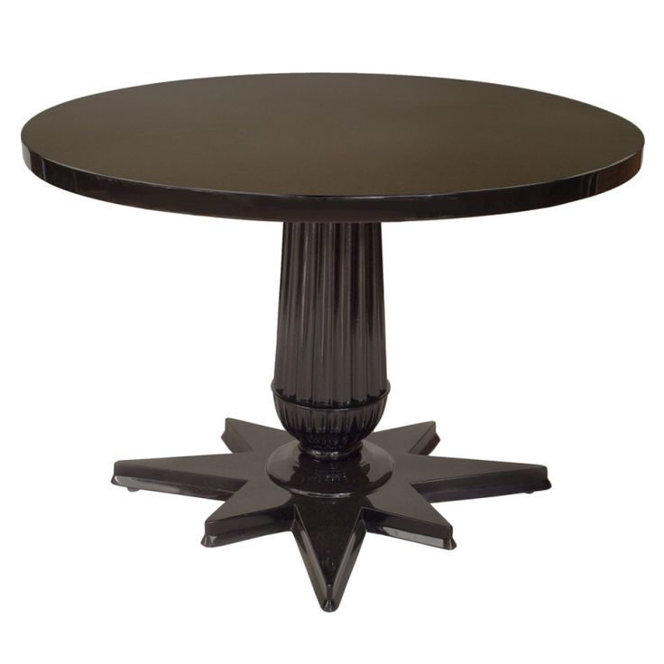 19th c ebonized round and star form austrian center table for Table 6 of gstr 1