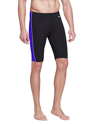 Baleaf Men's Splice Jammer Racing Swimsuit #deals
