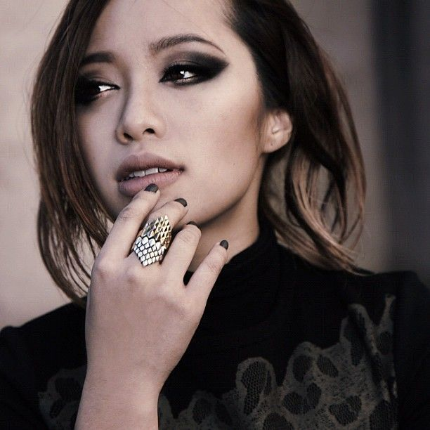 Michelle Phan, age 25. She catapulted to success with a series of YouTube videos on makeup and beauty and is now the youngest spokesperson for Lancome