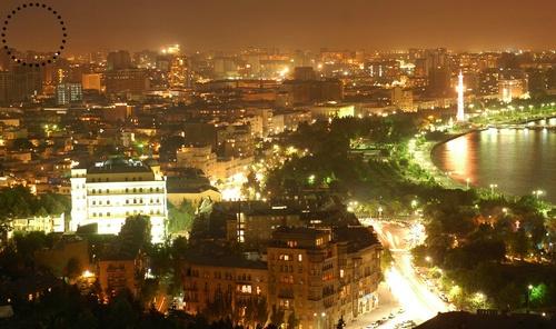 Baku Cİty View  Bakou Vue sur la Ville