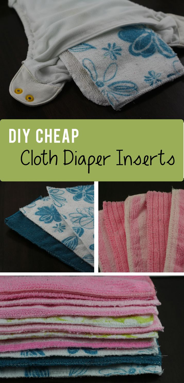 Diapering husband for bed - Diy Cheap Cloth Diaper Inserts
