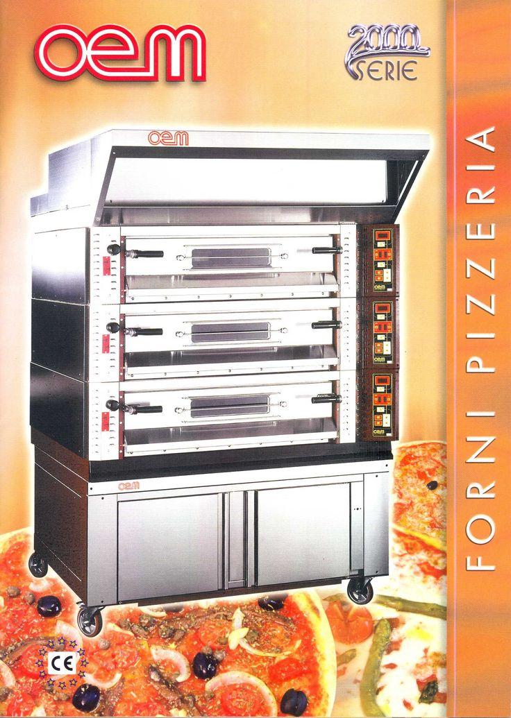 OEM - Pizza Ovens serie 2000 www.oemali.com