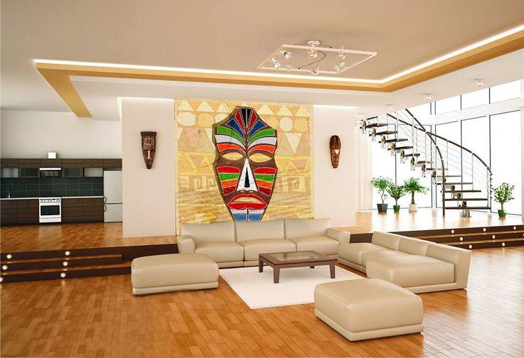 A może coś w stylu afrykańskim? #homedecor #fototapeta #aranżacjawnętrz #wystrójwnętrz #decor #desing http://www.fototapeta24.pl/getMediaData.php?id=49378197