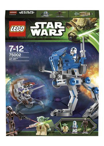 LEGO Star Wars 75002 AT-RT NEW Retired Set w Yoda