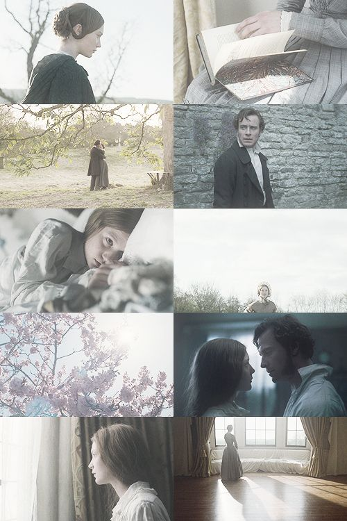 Screen caps - Mia Wasikowska (Jane Eyre) Michael Fassbender (Mr. Edward Fairfax Rochester) - Jane Eyre (2011) #charlottebronte #caryfukunaga