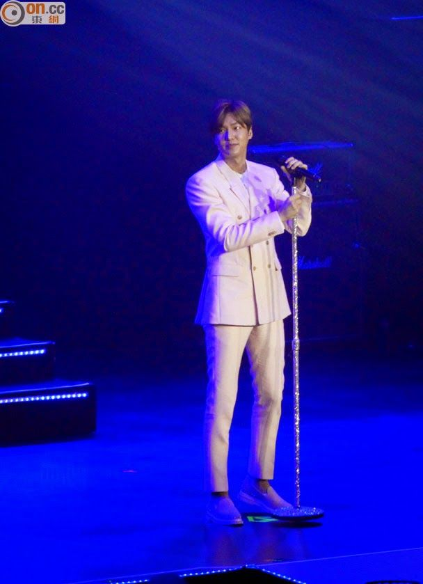 Lee Min Ho - LIVE in Hong Kong - 21.03.2015