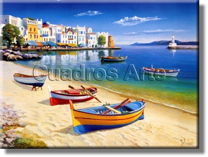 Laminas cuadros marinas barcos botes y veleros for Laminas cuadros