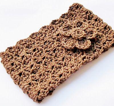 Easy crochet headband/ear warmer - free pattern