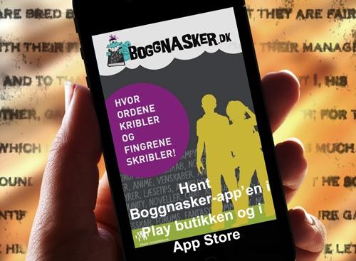 Boggnasker App til iPhone og Android telefoner