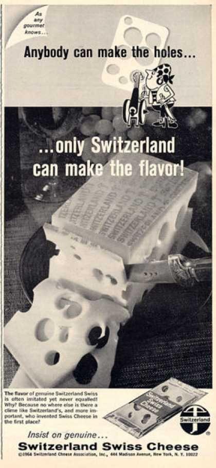 Switzerland Swiss Cheese (1964)